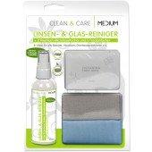 Dynatech Clean & Care ideal für alle Oberflächen 100 ml Sprayflasche, 2 Microfaser, 5 Trockentücher