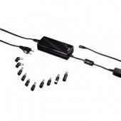 Hama Universal-Notebook-Netzteil, 12-22 V/110 W USB-Power-Socket, 10 Adapterstecker, LED-Anzeige