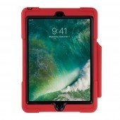 SHOCKGUARD iPad9.7 Case rot mit Pen- Halterung