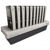 TI-84 Plus C Silver Editon Ladestation zum Laden des internen Akkus von bis zu 10 Geräten