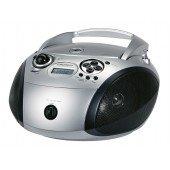 Grundig RCD 1445 USB - CD-Radio - silber/schwarz