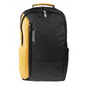 BESTLIFE Titan Business Rucksack für Laptop schwarz/gelb