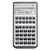 HP-30 B Hewlett Packard Finanzrechner in Silber-Optik mit Lederetui