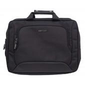 BestLife Umhänge-Rucksack für Laptop bis 15,6 Zoll schwarz