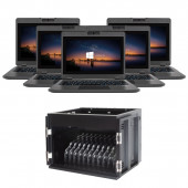 Scieneo Starter Kit Team10 mit AverMedia X12 10x scieneo.amplio VI Notebook Pentium und Koffer