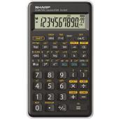 Sharp EL-501 TB WH - Schulrechner - weiß 1-zeiliges Display -146 Funktionen - Batterie