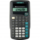 TI-30 ECO RS - Schulrechner - schwarz - GEBRAUCHT/ NEU