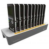 TI-84 Plus CE-T Ladestation zum Laden des internen Akkus von bis zu 10 Geräten