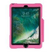 SHOCKGUARD iPad9.7 Case pink mit Pen- Halterung