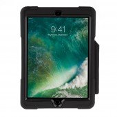SHOCKGUARD iPad9.7 Case schwarz mit Pen- Halterung