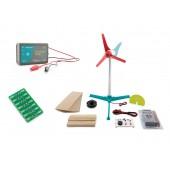 Vernier Go Direct Investigating Wind Energy Set GDP-EL-WE- inkl. Sensor und Zubehör