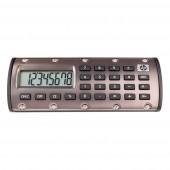 HP Quick Calc - Taschenrechner - bronze - 8-stelliges LCD - magnethaftend - Prozentrechnung