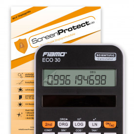 ScreenProtect Displayschutzfolie UltraClear für Fiamo ECO 30 (Folie+Microfasertuch)