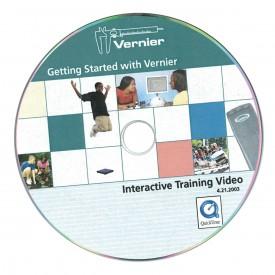 Vernier CD-Rom Get Started Beispiele mit über 40 Experimenten als interaktives Trainingsvideo (eng)