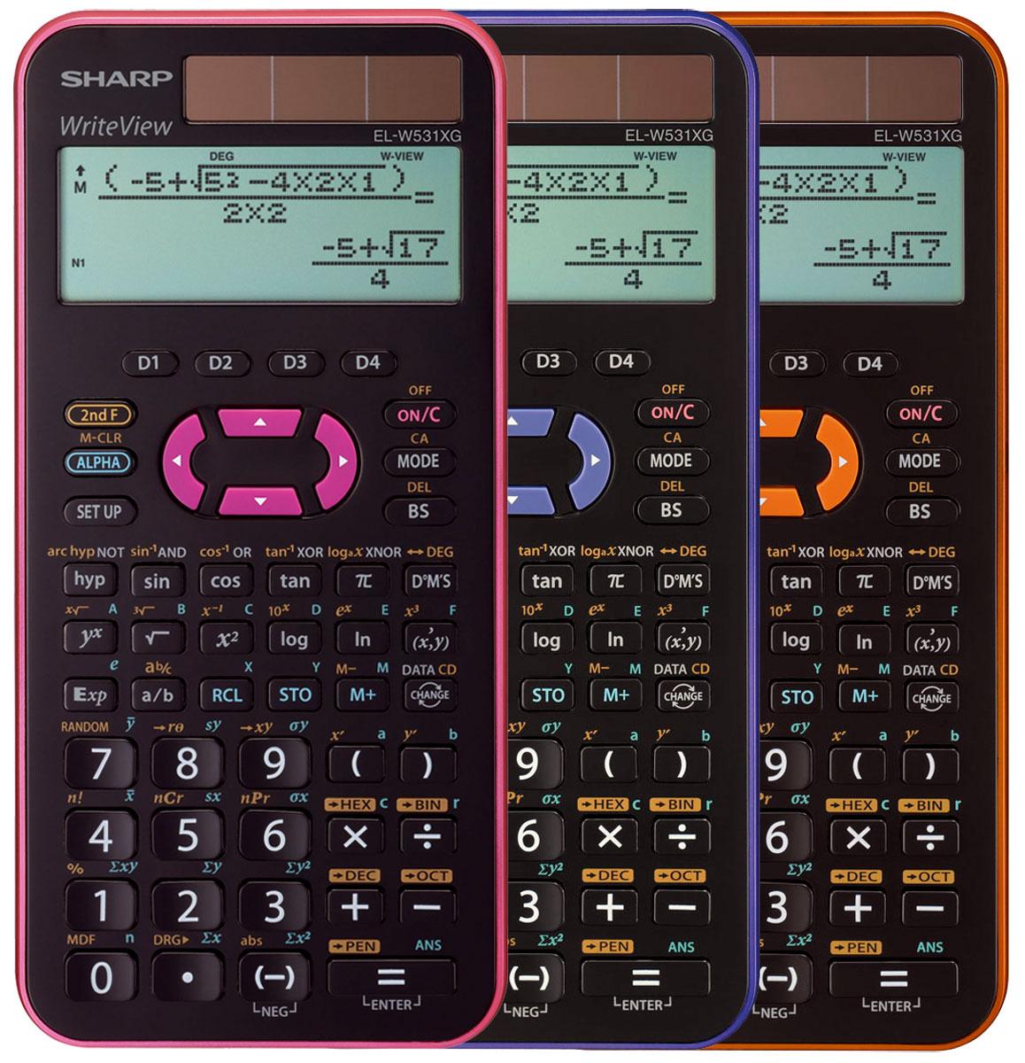 Schutztasche Schutzhülle Sharp EL 520 XG Violett Taschenrechner