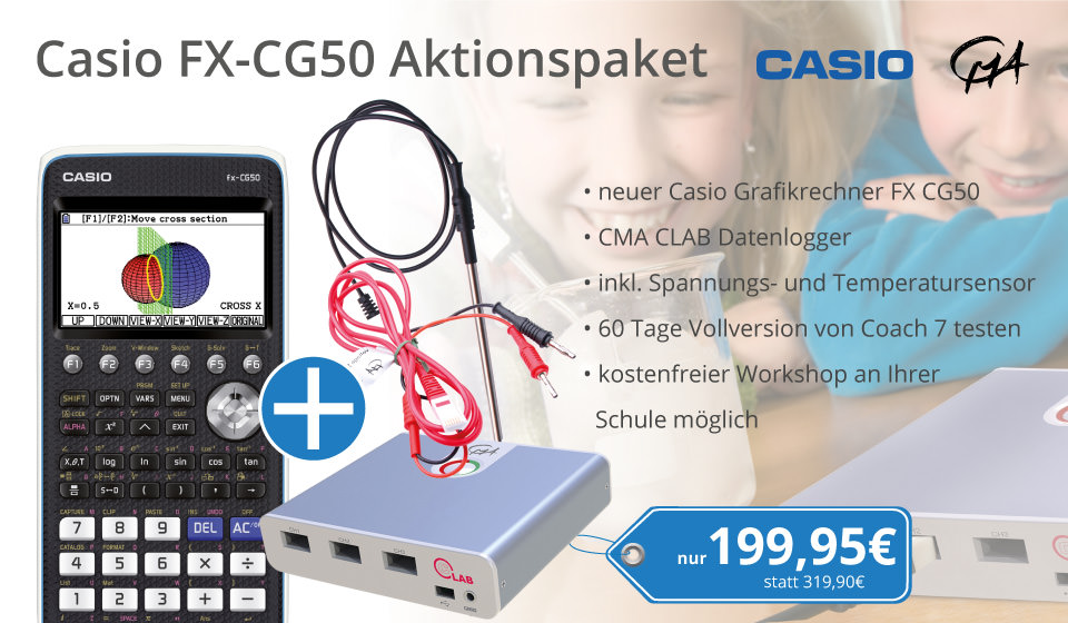 Casio FX-CG50 Aktionspaket